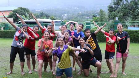 Tim ganda putri pelatnas Persatuan Bulutangkis Seluruh Indonesia (PBSI) - INDOSPORT