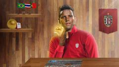 Indosport - Pemain asing anyar Bali United untuk Liga 1 2021, Eber Bessa.