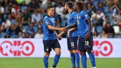 Indosport - Hasil Kualifikasi Piala Dunia 2022 Italia vs Lithuania: Gli Azzurri Pesta Gol.