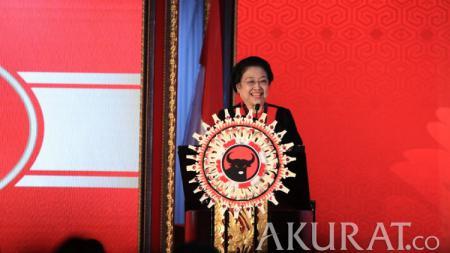 Ketua Umum PDI Perjuangan, Megawati Soekarnoputri. - INDOSPORT