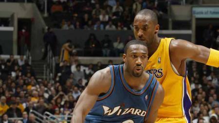 Mendiang Kobe Bryant dicap sebagai salah satu pebasket terbaik sepanjang sejarah NBA, tetapi Black Mamba nyatanya pernah dibuat tak berkutik oleh ucapan Gilbert Arenas. - INDOSPORT