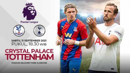 Pertandingan antara Crystal Palace vs Tottenham Hotspur (Liga Inggris). - INDOSPORT