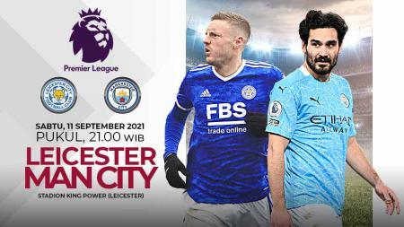 Pertandingan antara Leicester City vs Manchester City (Liga Inggris). - INDOSPORT