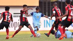 Indosport - Persipura Jayapura bertekad keluar dari zona merah dan mengalahkan Persija Jakarta pada lanjutan pekan ketiga kompetisi BRI Liga 1 2021, Sabtu (19/09/21).