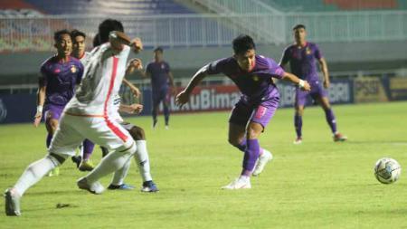 Situasi pertandingan Persik Kediri vs Borneo FC. - INDOSPORT