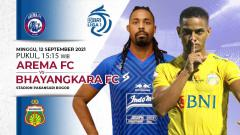Indosport - Berikut prediksi pertandingan BRI Liga 1 2021/2022 antara Arema FC vs Bhayangkara FC, Minggu (12/09/21).