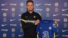 Indosport - Chelsea Bantai Aston Villa, Saul Niguez Bikin Thomas Tuchel Geram