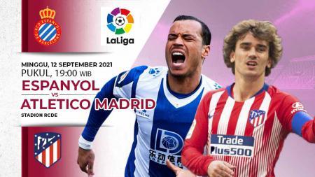 Berikut ini prediksi pertandingan lanjutan LaLiga Spanyol pekan ke-4 antara Espanyol vs Atletico Madrid yang akan digelar hari Minggu (12/09/21) pukul 19.00 WIB - INDOSPORT