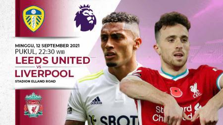 Berikut link live streaming pertandingan pekan ke-4 Liga Inggris 2021/22 antara Leeds United vs Liverpool. - INDOSPORT