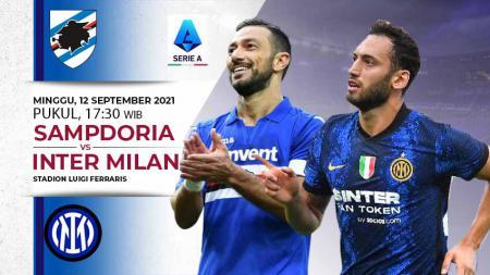 Link Live Streaming Pertandingan Serie A Liga Itallia: Sampdoria vs Inter Milan - INDOSPORT