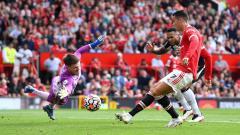 Indosport - Jelang laga Liga Champions 2021/22 antara Manchester United melawan Young Boys, Cristiano Ronaldo di ambang rekor fantastis.