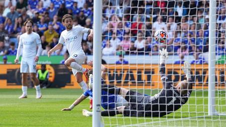 Bernardo Silva di laga Liga Inggris Leicester vs Manchester City, Sabtu (11/09/21) - INDOSPORT