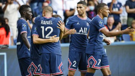 Berikut jadwal pertandingan lanjutan pekan ke-10 kompetisi Ligue 1 Prancis musim 2021-2022 hari ini antara Paris Saint-Germain (PSG) vs Angers. - INDOSPORT