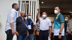 Indosport - Menpora Zainudin Amali dan ketua umum PSSI, Mochamad Iriawan angkat bicara soal kualitas wasit Liga 1.