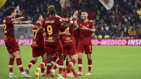 Hasil Liga Italia AS Roma vs Sassuolo - INDOSPORT