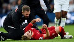 Indosport - Pemain Muda Liverpool, Harvey Elliott usai terkenal tekel horor