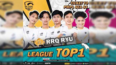 Selama mengarungi kompetisi eSprots PUBG Mobile Pro League (PMPL) Indonesia Season 4, RRQ Ryu yang diperkuat Nerpehko, Valdemort, Mort, dan Asaa tampil dominan. - INDOSPORT