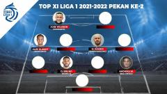 Indosport - Top XI Liga 1 2021-2022 Ke 2.
