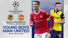 Indosport - Berikut ini prediksi pertandingan Liga Champions 2021-2022 antara Young Boys vs Manchester United yang akan berlangsung pada Selasa (14/09/21) malam WIB.