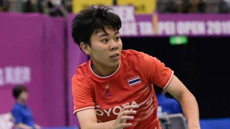 Supanida Katethong pebulutangkis Thailand masuk skuat Thailand di Piala Uber 2021 menggantikan Ratchanok Intanon. - INDOSPORT