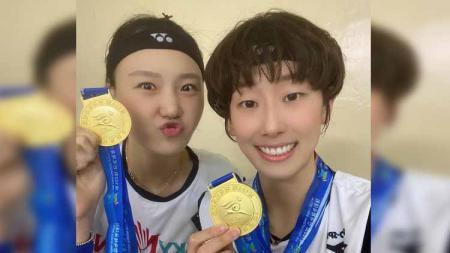 Siapa yang tak mengenal Lee So Hee, pebulutangkis asal Korea Selatan yang dikenal tak hanya karena prestasinya, tetapi juga paras cantiknya. - INDOSPORT