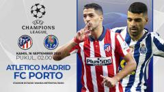 Indosport - Atletico Madrid vs FC Porto (Liga Champions)