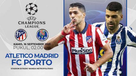 Atletico Madrid vs FC Porto (Liga Champions) - INDOSPORT
