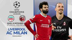 Indosport - Prediksi pertandingan Grup B Liga Champions Liverpool vs AC Milan, Kamis (16/09/21) dini hari WIB.