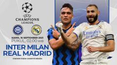 Indosport - Duel Antarlini Inter Milan vs Real Madrid di Liga Champions: Adu Tajam Lini Depan