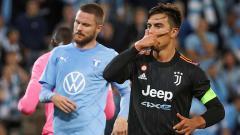Indosport - Selebrasi gol Paulo Dybala di laga Liga Champions Malmo FF vs Juventus.