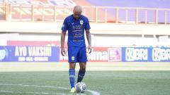 Indosport - Striker PSIS Semarang, Bruno Silva.