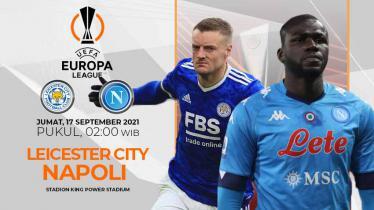 Leicester City vs Napoli (Liga Eropa)