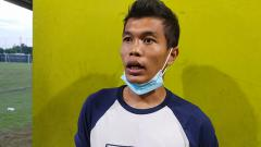 Indosport - Pemain senior KS Tiga Naga, Nico Malau.
