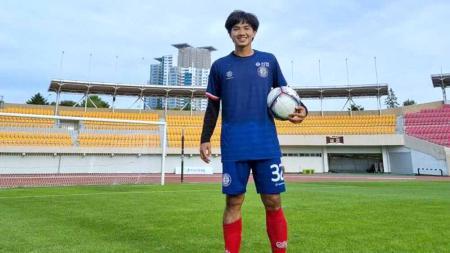 Muhammad Iqbal jalani debut di klub Liga 3 Korea, Cheongju FC. - INDOSPORT