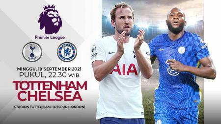 Berikut prediksi untuk pertandingan pekan kelima Liga Inggris antara Tottenham Hotspur vs Chelsea, Minggu (19/09/21) pukul 22.30 WIB. - INDOSPORT
