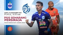 Indosport - Pertandingan antara PSIS Semarang vs Persiraja (Liga 1 BRI).
