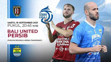 Pertandingan antara Bali United vs Persib Bandung (Liga 1 BRI). - INDOSPORT