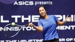 Indosport - Petenis putri Indonesia, Aldila Sutjiadi.