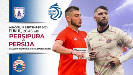 Berikut link live streaming pertandingan BRI Liga 1 2021-2022 pekan ke-3 antara Persipura Jayapura vs Persija Jakarta. - INDOSPORT