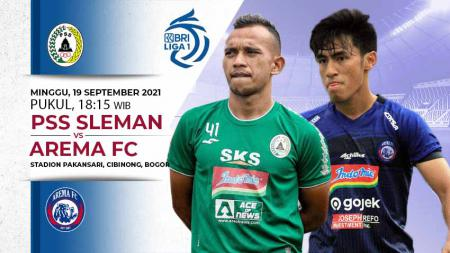 Berikut link live streaming pertandingan BRI Liga 1 2021-2022 pekan ke-3 antara PS Sleman vs Arema FC. - INDOSPORT