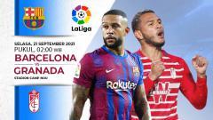 Indosport - Berikut jadwal pertandingan Liga Spanyol, Selasa (21/09/21) dini hari WIB di mana Barcelona akan menjamu Granada demi kembali ke papan atas.