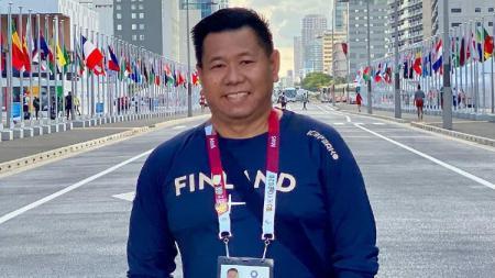 Imam Teguh Santoso, pelatih bulutangkis Finlandia asal Indonesia. - INDOSPORT