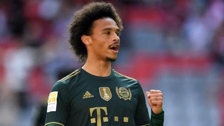 Absennya Julian Nagelsmann dari tepi lapangan tidak membuat Bayern Munchen kesulitan jinakkan Benfica di kandang mereka sendiri dengan Leroy Sane jadi bintang. - INDOSPORT