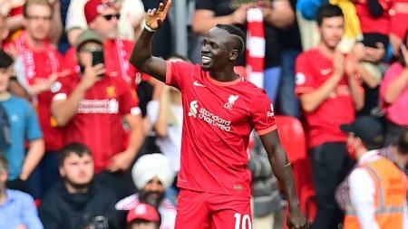 Berikut 5 rekor mencengangkan usai Liverpool bekuk Crystal Palace 3-0 di Liga Inggris, Sabtu (18/09/21) malam WIB, dua di antaranya diciptakan Sadio Mane. - INDOSPORT
