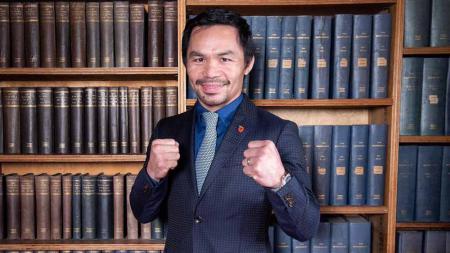 Petinju juara dunia profesional asal Filipina, Manny Pacquiao. - INDOSPORT