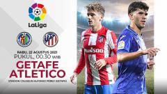 Indosport - Berikut prediksi pertandingan Getafe vs Atletico Madrid di ajang Liga Spanyol 2021/22 pekan ke-6, Rabu (22/09/21) pukul 00.30 WIB di Alfonso Perez.