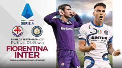 Indosport - Pertandingan antara Fiorentina vs Inter Milan (Serie A Italia).