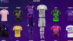 Indosport - Jersey RANS Cilegon FC untuk Liga 2 2021.