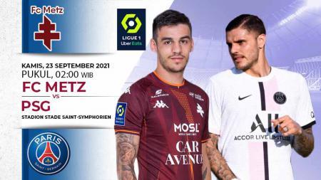 Prediksi FC Metz vs PSG - INDOSPORT