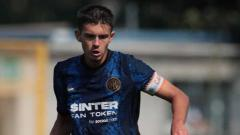 Indosport - Mattia Sangalli gelandang 19 tahun.